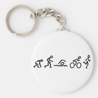 Evolution Tri Keychain