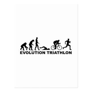 Evolution triathlon postcard
