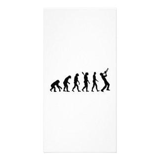 Evolution trumper customized photo card