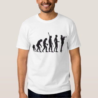 evolution trumpet more player tee shirt