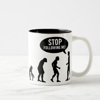 evolution Two-Tone coffee mug