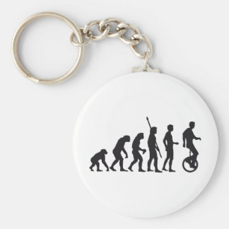 evolution unicycle key ring