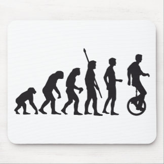 evolution unicycle mouse mat