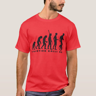evolution unicycle T-Shirt