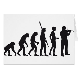 evolution violin card