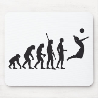 evolution volleyball mouse mat