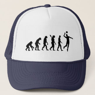 Evolution Volleyball player Trucker Hat