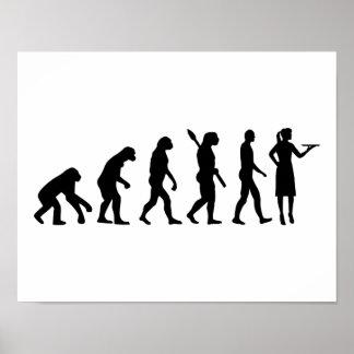 Evolution waitress poster