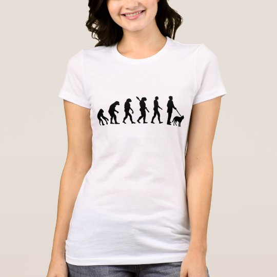 Evolution Walk the dog T-Shirt