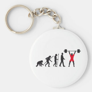 evolution weight more lifter key ring