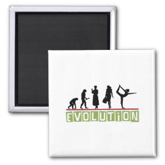 Evolution Yoga Magnet