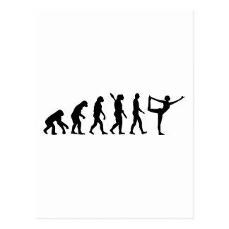 Evolution Yoga Postcard