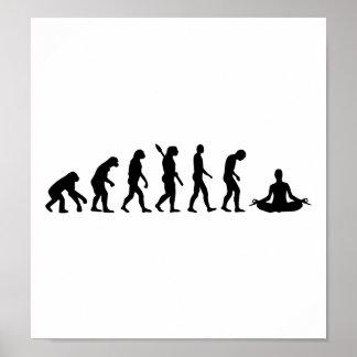 Evolution Yoga Poster