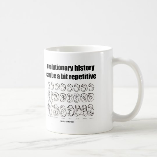 evolutionary history can be a bit repetitive coffee