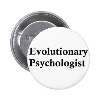 Evolutionary psychologist pinback button