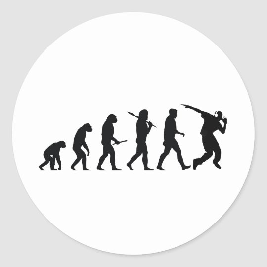 EvolutionDance Classic Round Sticker