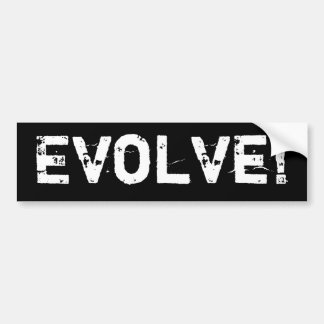 Evolve Bumper Sticker
