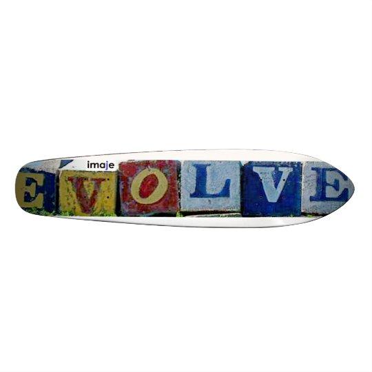 Evolve Skinny Skateboard Deck