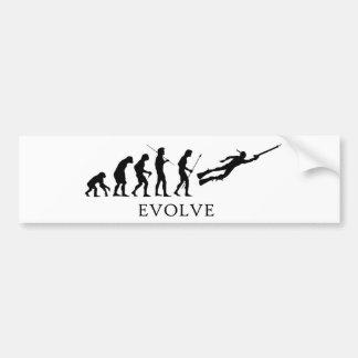 Evolve Spearfishing Bumper Sticker