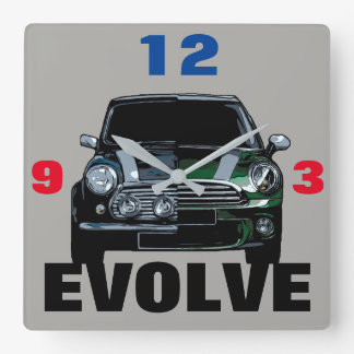 EVOLVE SQUARE WALL CLOCK