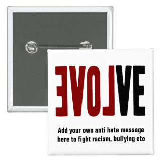 Evolve with LOVE 15 Cm Square Badge