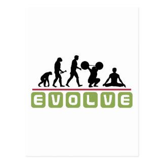 Evolve Yoga Gift Postcard