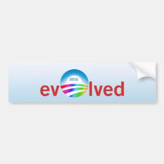 evOlved Car Bumper Sticker
