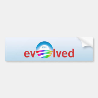 evOlved Bumper Sticker