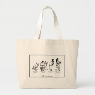 Evolving Librarian Tote Bag