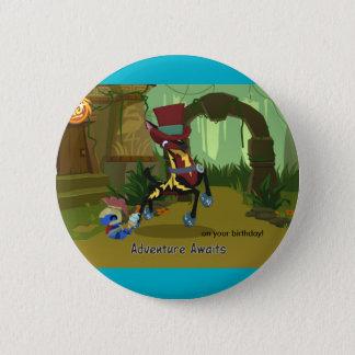 Evon adventurous birthday badge