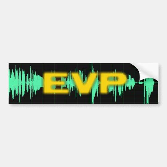 EVP Bumper Sticker
