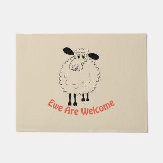 Ewe Are Welcome Doormat