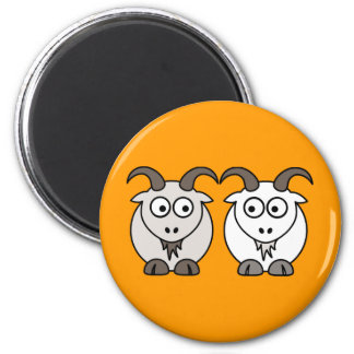 Ewe Get My Goat 6 Cm Round Magnet
