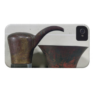 Ewer and basin (copper) iPhone 4 cases