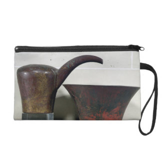 Ewer and basin (copper) wristlets
