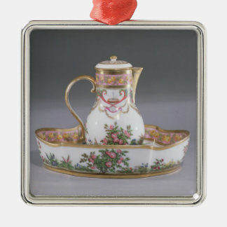 Ewer and basin, made in Paris Christmas Ornament