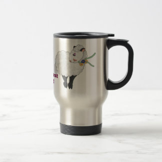 Ewe's not Fat, Ewe's Fluffy! Travel Mug