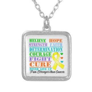 Ewing Sarcoma Believe Strength Determination Jewelry