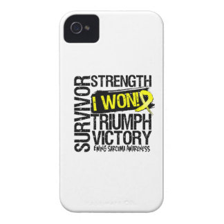 Ewing Sarcoma Survivor I Won iPhone 4 Covers