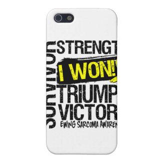 Ewing Sarcoma Survivor I Won iPhone 5 Cover