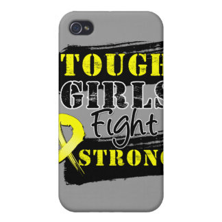 Ewing Sarcoma Tough Girls Fight Strong iPhone 4/4S Covers