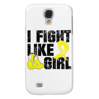 Ewings Sarcoma I Fight Like A Girl Grunge Galaxy S4 Case