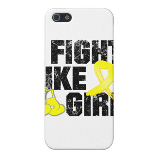 Ewings Sarcoma I Fight Like A Girl Grunge iPhone 5 Covers