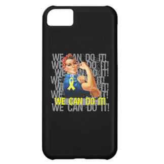 Ewings Sarcoma Rosie WE CAN DO IT iPhone 5C Covers