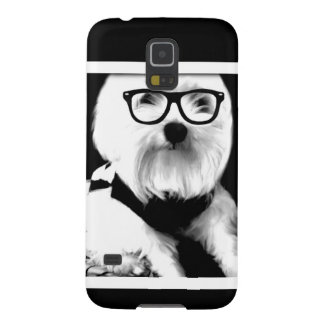 Ewok. Cute maltese with glasses Galaxy S5 Covers
