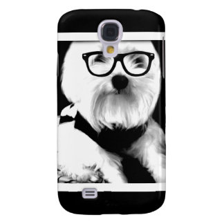 Ewok. Cute maltese with glasses Galaxy S4 Case