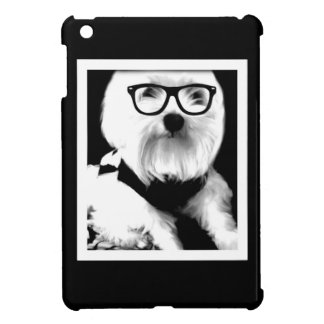 Ewok. Cute maltese with glasses iPad Mini Covers