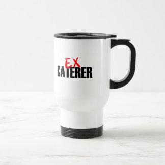 EX CATERER LIGHT STAINLESS STEEL TRAVEL MUG