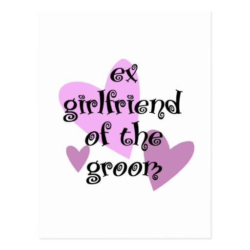 Ex-Girlfriend of the Groom Postcard