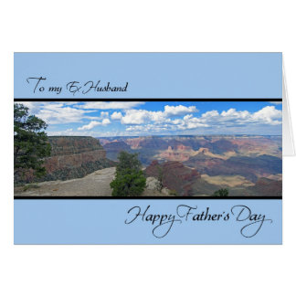 Ex Husband Father's Day Card